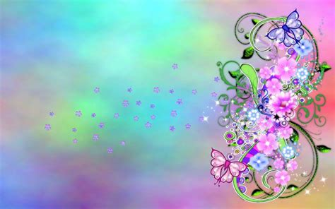 3d Flower Desktop Background Wallpaper Download