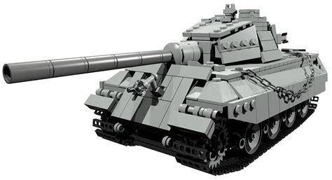 Bauanleitung für Königstiger Panzer (WW2) Lego