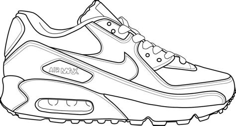 Nike air coloring page Boys pages of KidsColoringPage