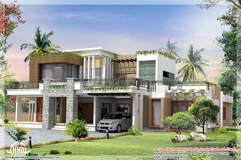 contemporary house plans with photos 2800 sqft modern