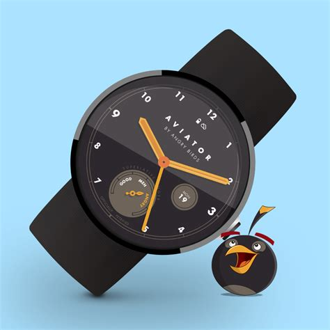 Angry Birds Aviator Watch Face 104 APK Download