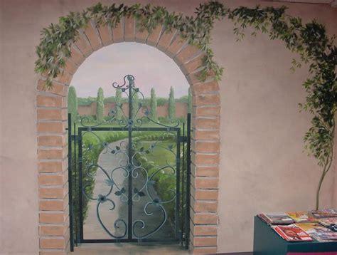 garden theme murals portland oregon from Melissa Barrett