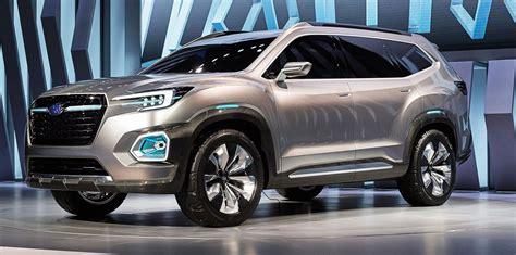 Subaru Viziv 7 concept previews new seven seat SUV