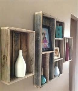 Pallet Wall Shelves Ideas 101 Pallets