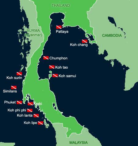 Asia Dive Travel Thailand Dive Sites Best dive sites