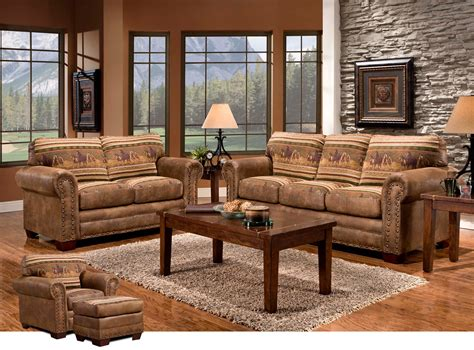 Western Furniture: Wild Horses Sofa CollectionLone Star