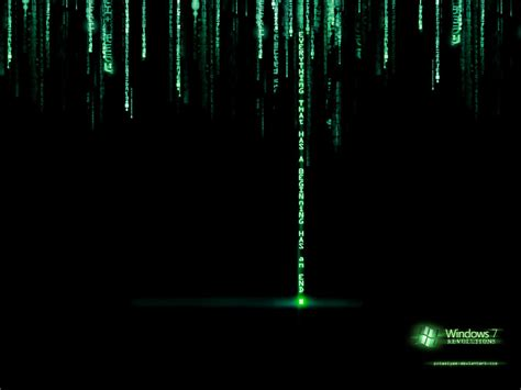Matrix Wallpaper Moving Windows 7