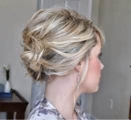 cute updos for short hair everyday