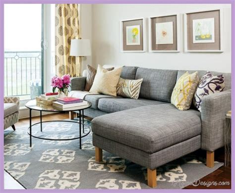 Decorating Small Living Rooms Apartments 1HomeDesignsCom