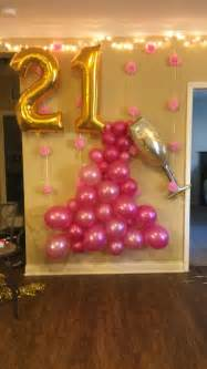 21st Birthday Party Ideas Diy 2 Wall Decal