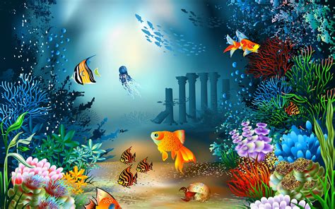 Sea Life Wallpaper WallpaperSafari