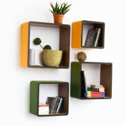Home Design: Furniture Creative Corner Wall Shelf Unit