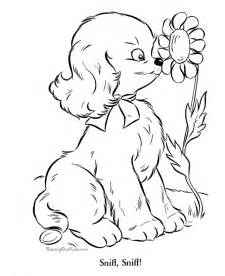 Pics Photos Puppy Coloring Page Free Animal Printable