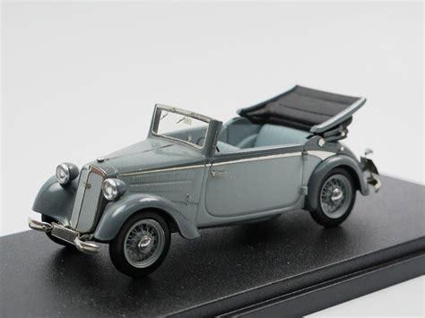 1939 DKW F8 Cabriolet grau 1/43 AAM/EMC exquisites Modell