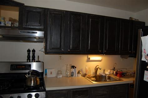 Black Cabinet Paint Awesome Distressed Kitchen Cabinets