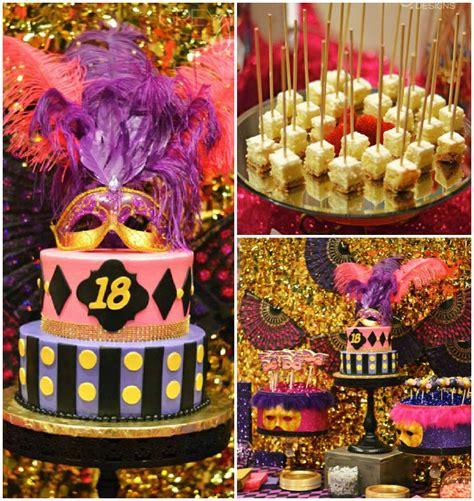 Karas Party Ideas Masquerade 18th Birthday
